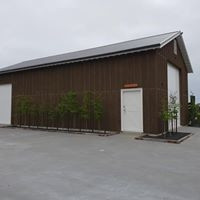Cedar barn stained - we do lots of painting work also for equestrian Market with a really high quality standard