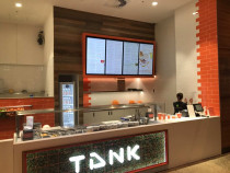 JSR Tiling Ltd completed Tiling at Tank - New food courts at Langdons Quarter Northland mall, Papanui, Christchurch