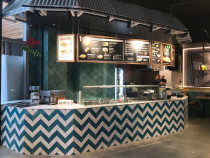 JSR Tiling Ltd completed Tiling at Mad Mexican restaurant - New food courts at Langdons Quarter Northland mall, Papanui, Christchurch