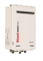 Rinnai A20 - Sick of running out of hot water? Install a Gas hot water system and never fear a freezing shower again.
