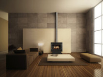 Rinnai Neo Freestander - A modern take on the freestanding fireplace with two models to choose from, The Neo console or the Neo Plinth.