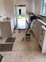 kitchen - floor by Kevin Tiling