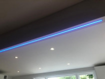 Led Lighting. - New Kitchen fit out Lower Hutt, with RGB strip lighting above bench top. Jan, 2020