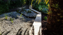 Deck Path by Lakeside Landscapes
