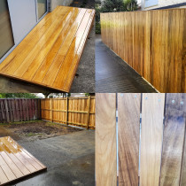 Fence, gate and deck by Lakeside Landscapes
