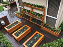 All custom built planters