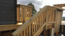 Deck & stairs construction