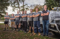 Leading Edge Electrical Team - Our talented team of electricians at Leading Edge Electrical. Our Hamilton-based team of electricians have learnt one thing about electrical work: get it done right the first time.