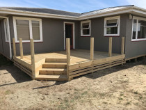 New Deck Build by Long Building Solutions - Beach side deck build for a client of ours. Photo is at completion before balustrade was installed by others.