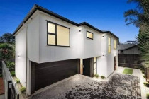 Outside lighting for a new build by Lux Exterior Ltd in Auckland