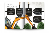 Brochure - Client: Scape Goats Landscaping - Wellington, New Zealand
