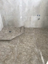 Tiled shower base