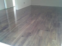 Stained Pine floor- Mikes Floor Sanding