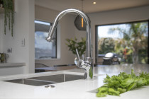 Talk to Moda Kitchens for Herbs in the island or even a sink for drinks on ice for party times!