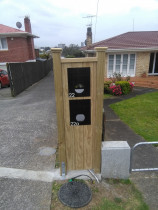 Mohi Te Whatu Fencing Limited - Mail Box Return at 1.6m High