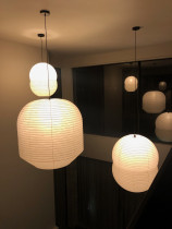 Indoor Lighting - Japanese paper pendants