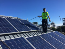 Solar Power - Installing PV solar panels
