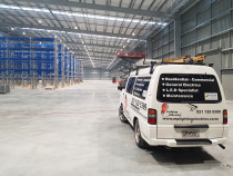 Commercial applications - (single and three-phase) - MP Lighting & Electrics were asked to carry out an extensive networking cabling and fit off arrangement at a brand new factory in Auckland.