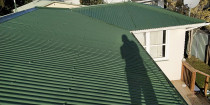 After completing the roof jobs