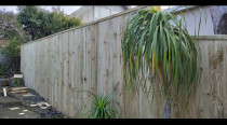 After - FINALLY for completion of the new quality fence. 