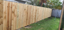 After - after completing the fence, our clients wanted to complete for double side fencing, which has been done perfectly.