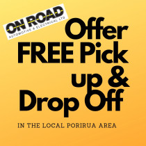 Free Drop Off & Pick Up Locally