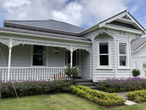 Full villa repaint - Recent villa repaint in Muriwai, Auckland by Paint Crew