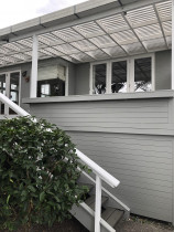 recent repaint - Grey Lynn, Auckland repaint of exterior decks & seating area by Paint Crew