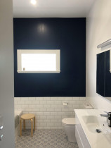 Bathroom interior - Part of a full villa interior repaint by Paint Crew in Pt Chevalier, Auckland