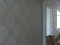 wallpapering - Entry walls, benchmark homes