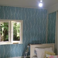 wallpapering by Precision And Quality Painting Ltd