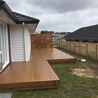 deck after Precision And Quality Painting Ltd