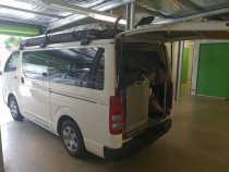 Our van fully packed! Shows you dont always need a truck to cart furniture :)