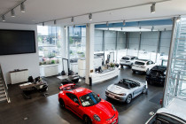 Giltrap Porsche - Interior by Profile Painters and Decorators