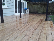 Deck by Pronto Building and Landscaping Ltd - Pine Deck