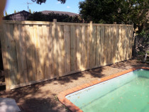 Acoustic Fence - Pine Fence
