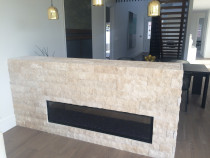 Interior finishing - Fireplaces!