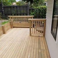 Deck - R&B Construction Ltd completed a deck for a happy customer located in Pakuranga.