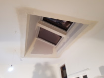 Plaster Skylight - Plastering works on skylights