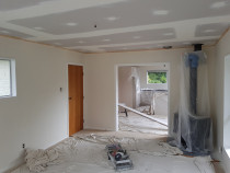 Skimming old wallboards & Gib stopping ceiling - Skimming old wallboards to a beautiful smooth finished 