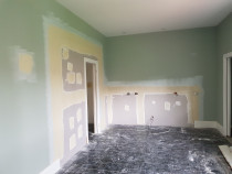 Patching up walls - Patching up walls to a Paint finish