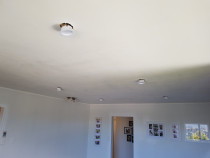 Skim texture ceiling - Skimming old textures ceilings to a beautiful smooth finished