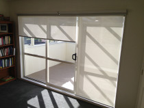 Dual roller blinds - Sunscreen and black out roller blinds