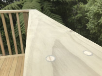 Balustrade capping details with concealed fixings