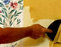 Wallpaper Removal - SAB Painting offers great wallpaper removing and skimming. We make sure that after we remove the wallpaper we put the Oil Base undercoat and then we do skimming. We make sure that wallpapering, putting oil base and skimming are finished with great quality.