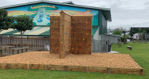 Climbing Wall: Sculptaview Landscaping Ltd. - Climbing Wall for in Intermediate School
