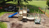 Playground: Sculptaview Landscaping Ltd. - Playground for Paeora Domain 