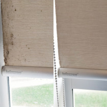 Mouldy Roller Blinds - We love a good before & after
