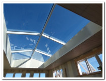 MULTI PANEL SKYLIGHT - 5.5 long by 1.4 high each side