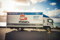 Smart Express Moving and Delivery Truck - This is one of our Smart Express trucks, we use these for house moves across Auckland and Tauranga, and large furniture removals too.